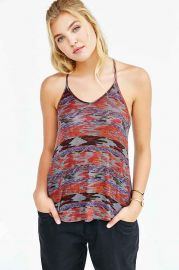 Silence and Noise Printed Lina Racerback Tank Top at Urban Outfitters