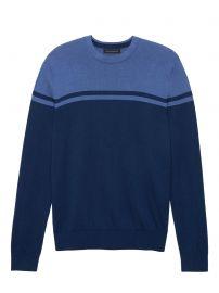 Silk Cotton Cashmere Stripe Sweater at Banana Republic