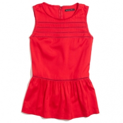 Silk Peplum Veranda top at Madewell