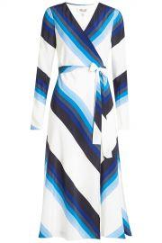 Silk Printed Dress by Diane von Furstenberg at Stylebop