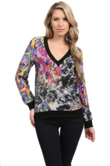 Silk Sweatshirt by Amanda Uprichard at Couture Candy