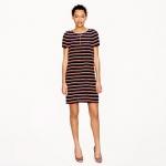 Silk striped tunic dress at J. Crew