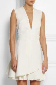 Silk wool blend mini dress by Victoria Beckham at Net A Porter