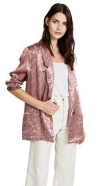Silky Jacquard Blazer by Free People at Shopbop
