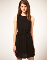 Similar black dress from ASOS at Asos