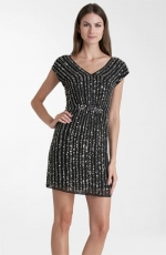 Similar black studded dress at Nordstrom