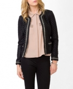 Similar chain detail jacket from Forever 21 at Forever 21
