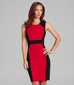 Similar colorblock dress by Calvin Klein at Dillards