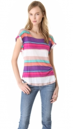Similar colored striped tee at Shopbop
