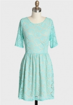 Similar dress in light blue at Ruche
