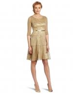 Similar gold dress at Amazon