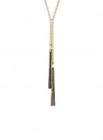 Similar gold tassle necklace at Dorothy Perkins