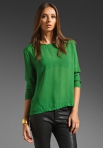 Similar green blouse from Revolve at Revolve