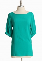 Similar green blouse from Ruche at Ruche