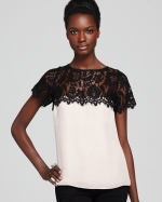 Similar lace top from Bloomingdales at Bloomingdales