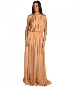 Similar metallic gown at 6pm
