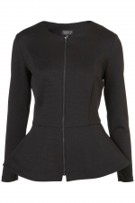 Similar peplum jacket from Topshop at Topshop