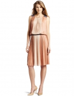 Similar pleated dress by same designer at Amazon