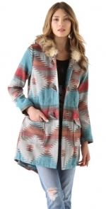 Similar printed coat by same designer at Shopbop
