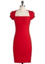 Similar red dress at Modcloth