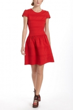Similar red dress from Anthropologie at Anthropologie