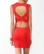 Similar red dress from Forever 21 at Forever 21