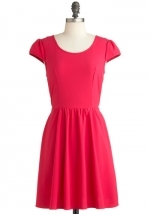 Similar red dress from Modcloth at Modcloth