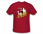 Similar red flash shirt at Amazon