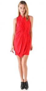 Similar red wrap dress at Shopbop
