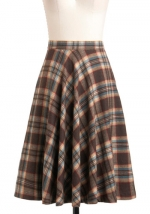 Similar skirt but shorter at Modcloth