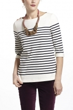 Similar striped top from Anthropologie at Anthropologie