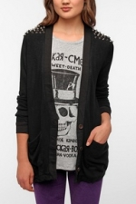 Similar studded cardigan at Urban Outfitters at Urban Outfitters