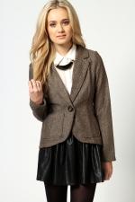 Similar style blazer at Boohoo