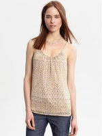 Similar tank top at Banana Republic