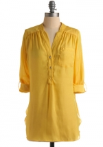 Similar yellow top from Modcloth at Modcloth