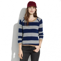 Simple Cashmere Waffle Sweater at Madewell