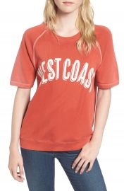Sincerely Jules West Coast Sweatshirt at Nordstrom