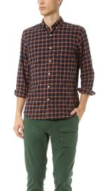 Single Needle Sport Shirt by Steven Alan at East Dane