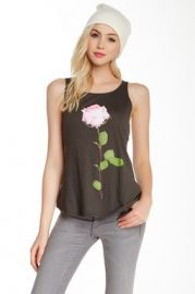 Single Rose Tank by Wildfox at Nordstrom