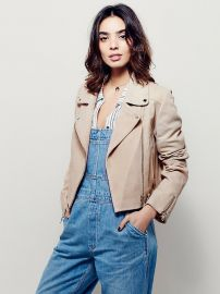 Size me up cropped suede jacket at Free People