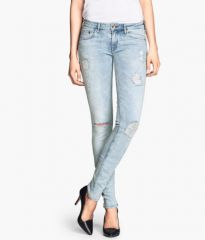 Skinny Low Jeans at H&M