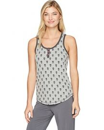 Skull Canyon Henley Tank by PJ Salvage at Amazon