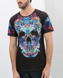Skull Tshirt at Zara
