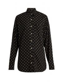Skull-print silk shirt at Matches