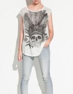 Skull shirt from Zara at Zara