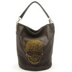 Skull studded bag at Mimi Boutique at Mimi Boutique