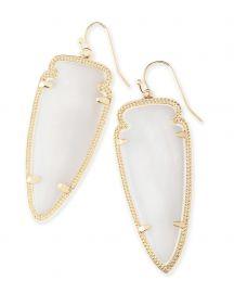 Skylar Earrings In White Pearl by Kendra Scott at Kendra Scott