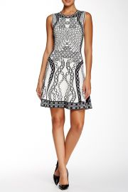 Sleeveless Fit andamp Flair Dress at Nordstrom Rack