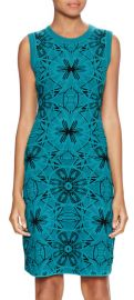 Sleeveless Intarsia Flower Dress by M Missoni at Gilt