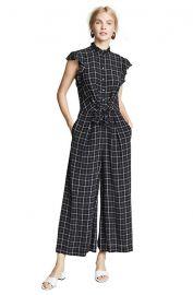 Sleeveless Silk Jumpsuit at Amazon